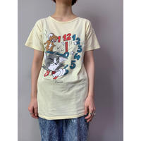 """""""Tom and Jerry""""プリントTシャツ"""