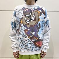"90s ""Tasmanian Devil"" printed sweat shirt"
