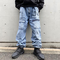 "90s ""Levi's SPORT JEANS"" chemical denim pants"