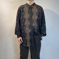 all pattern L/S design shirt