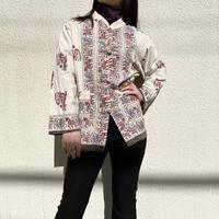 China motif L/S shirt