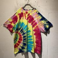 tie-dye design T-shirt(YLW)