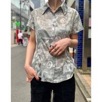 80s〜  photo print S/S shirt