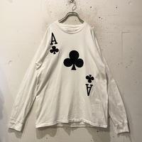 """80s~""""Ace"""" design tee"""