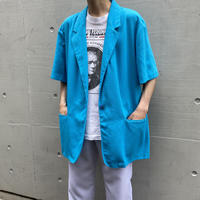 90s easy tailored jacket(BLU)