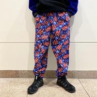 90s star pattern easy pants