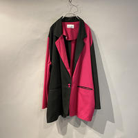 bi-color easy tailored jacket
