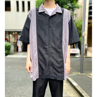 bi-color design S/S shirt
