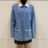 90s 2tone design denim jacket