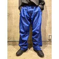 wide design nylon pants