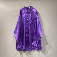 oversized L/S shiny shirt