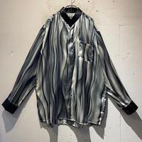 gradation design L/S shirt