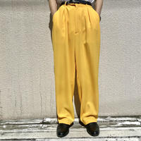 90s tuck slacks pants (DEADSTOCK)