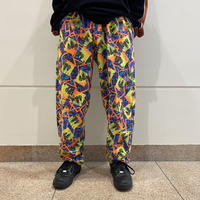 """80s """"GOLDS GYM"""" all patterned easy pants"""