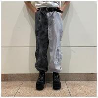 90s stripe bicolor pants