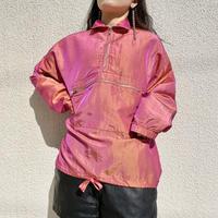 90s~ shiny nylon pullover