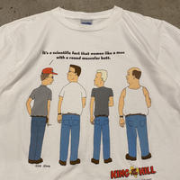"""90s """"KING OF THE HILL"""" printed tee"""