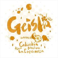 コロンビア・ナリーニョ・エスペランザ    ゲイシャ種    ウォッシュド   100g