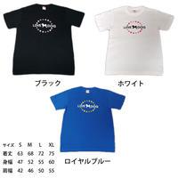 Tシャツ(男女兼用) サークルモノグラム デザイン