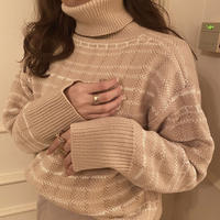 check turtle knit