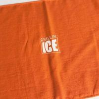 MURO × RUGGED CHILLIN' ICE 2018 mix cd (towel set/オレンジ×ホワイト)