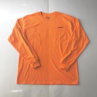 RUGGED rugged®︎ pocket L/S tee オレンジ