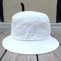 RUGGED on Champion ARCH LOGO buckethat ホワイト