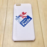 PUZZLE×RUGGED KICKS DELIVERY iPhone case (6/6s) ホワイト