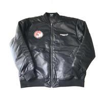 RUGGED 欲 MA-1 jacket ブラック XL