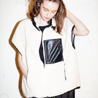 【Risley】Reversible Boa vest(1740416)
