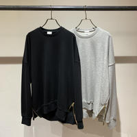 【Risley】Mens Side ZIP sweat (1740214)