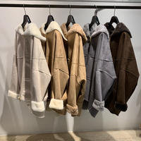 【Risley】Reversible  Mouton Short Coat(1680012)