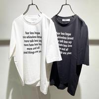 Lettered T-shirt (1050365)
