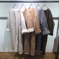 【Risley】Reversible  Mouton Long Coat(1680010)