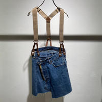 【Risley】Remake Denim Short Skirt (1370023)