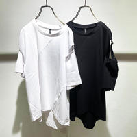 Slit Sleeve T-shirt (2110076)