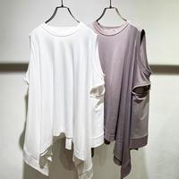 Zipper T-shirt (1600085)
