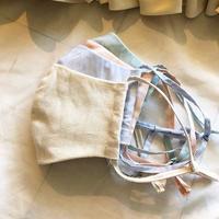 4枚セット【裏面ヘンプ100%】マスク全4色