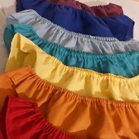 チャクラカラー全8色7枚組カラーコットンクロッチUPショーツセット(クロッチヘンプコットン)