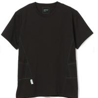 BEAMS AFFIX / パネル Tシャツ Black