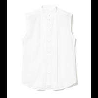 Demi-Luxe BEAMS LAQUINTANE / タキシード ノースリーブシャツ
