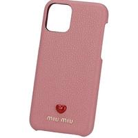 MIUMIU マドラスレザー IPHONE 11 PRO用カバー