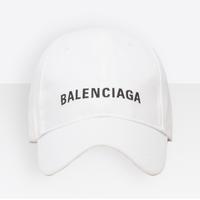 バレンシアガ クラシック ベースボールキャップ ホワイト