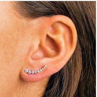 Crescent diamond pierce