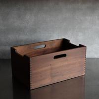古道具部 持ち手付き 組継ぎの木箱