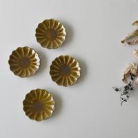 たくまポタリー ハナ 小皿 キャラメル