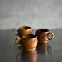 古道具部 キャラメル色のマグカップ
