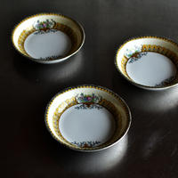 古道具部 オールドノリタケ ブーケの小皿