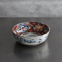 古道具部 牡丹蛤色絵中鉢