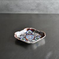 古道具部 色絵菱型皿
